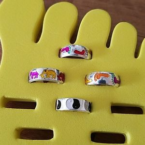 Jewelry - Various Sterling Silver Adjustable Toe Rings